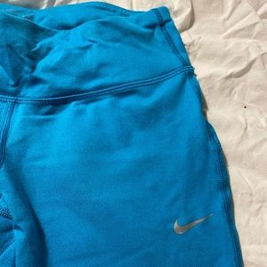 Nike DriFit Women's Tights- Blue